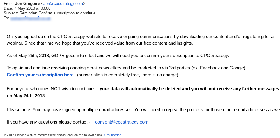 Confirm subscription to continue   Demand Generation